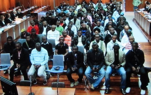 Un Momento De La Primera Sesión Del Juicio Del Caso 'Nilo'