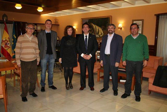 Reunión Con Asociaciones De Prensa