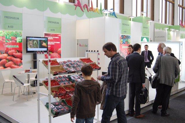 Stand Del Sector Fresero En Fruit Logística En Berlín.