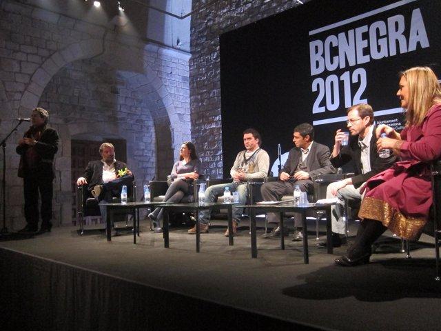 Segundo por la derecha: Fiscal Anticorrupción José Grinda En Bcnegra