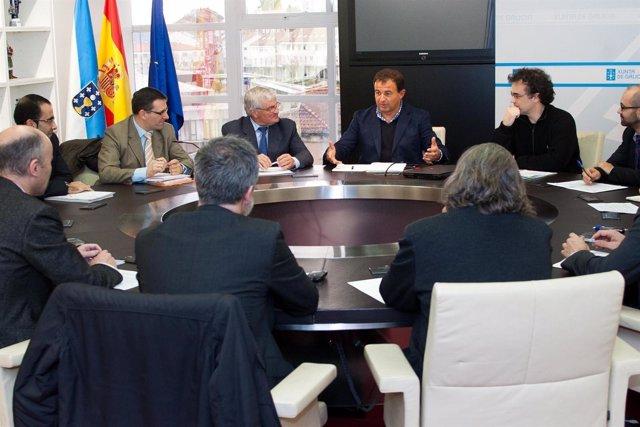 O conselleiro de Economía e Industria, Javier Guerra, manterá unha reunión coa A