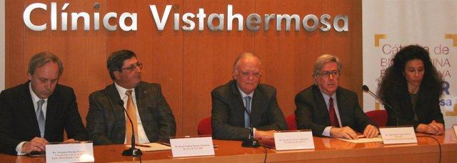 Presidente De Asisa, Réctor De La UMH Y Responsables Médicos De Vistahermosa