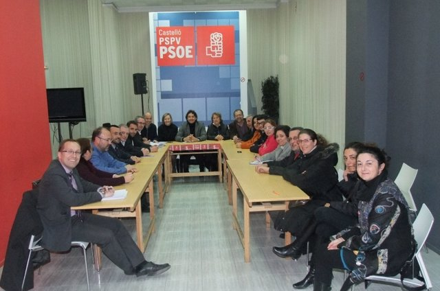 Ejecutiva Provincial Del PSPV De Castellón
