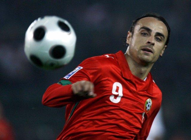 El Jugador Búlgaro Dimitar Berbatov