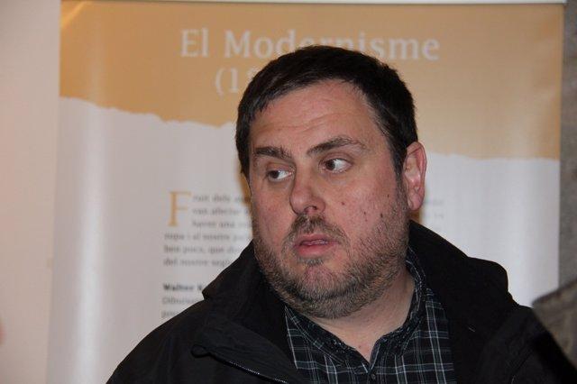 Presidente De ERC, Oriol Junqueras
