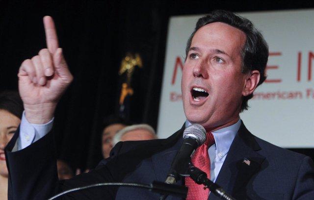 El Ex Senador Estadounidense Por Pensilvania Rick Santorum
