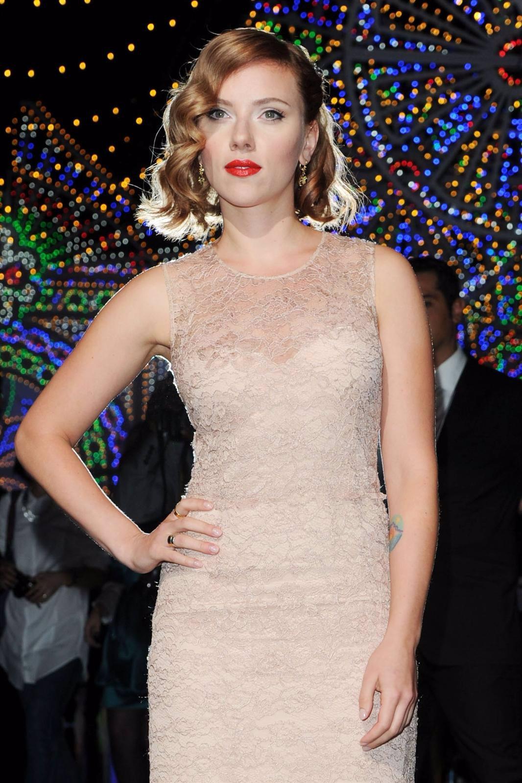 Scarlett Johansson En La Semana De La Moda De Milan