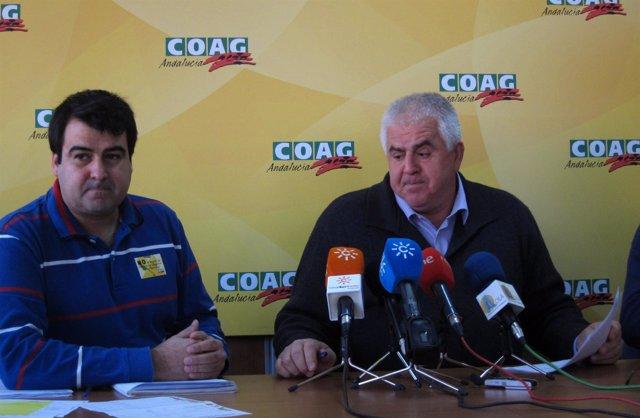 Andrés Góngora Y Miguel López, Hoy En Rueda De Prensa.