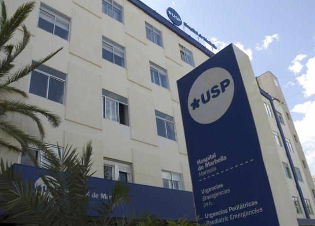 Fachada Del Hospital USP Marbella