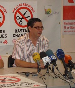 Secretario General Del PCE, José Luis Centella.