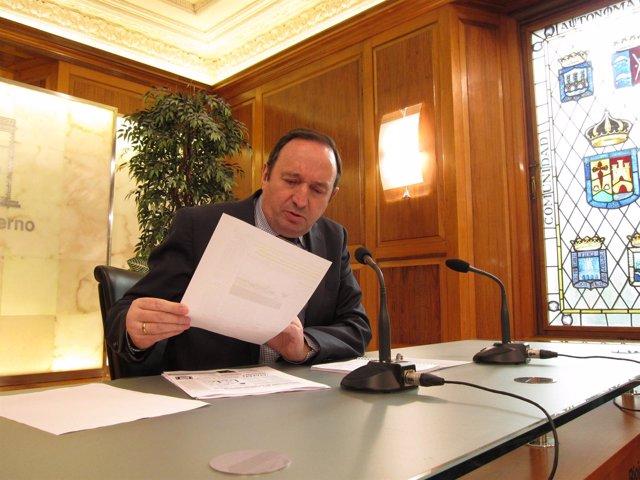 Pedro Sanz, Presidente Del Gobierno Riojano