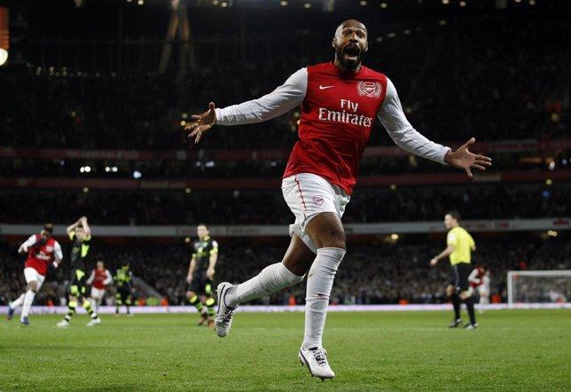 Thierry Henry Con El Arsenal