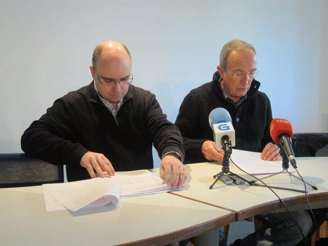 Manuel Martín Y Francisco Reyes En Reuda De Prensa