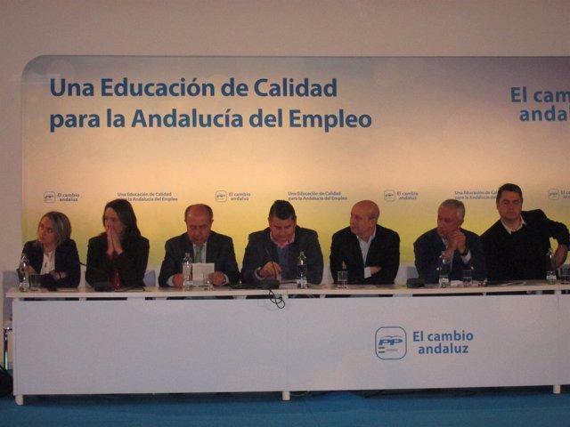 El Ministro De Educación Asiste Al Foro 'Educación De Calidad' Del PP