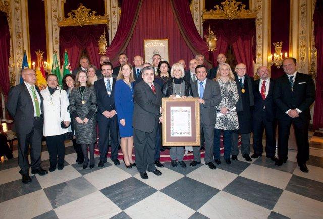 La Sociedad Andaluza De Estudios Histórico-Jurídicos En Diputación