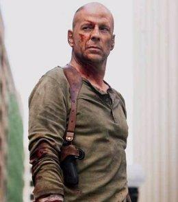 Bruce Willis En La Jungla De Cristal En Su Papel de John McClane