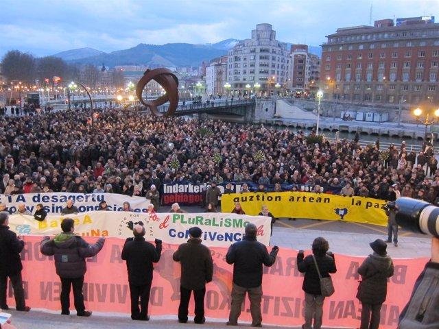 Gesto Por La Paz Manifa