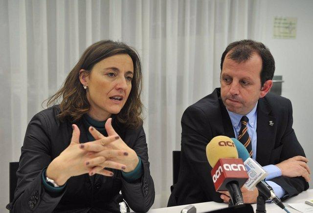 Alcaldesa De Sant Cugat, Mercè Conesa, Presenta El Presupuesto 2012