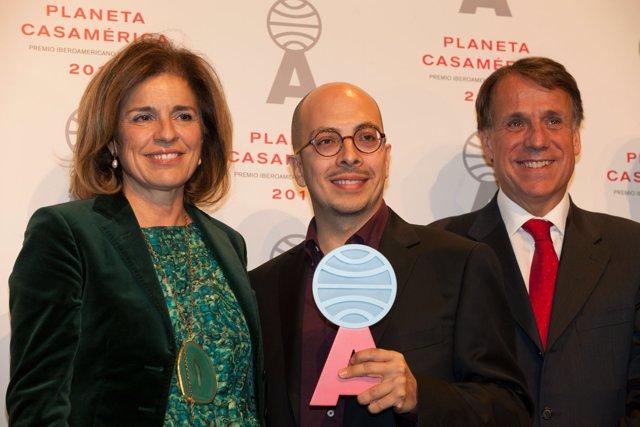 Ana Botella,Jorge Volpi Y José Crehueras