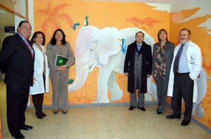 El Hospital La Paz finaliza el proyecto de arte terapéutico en las áreas de hospitalización