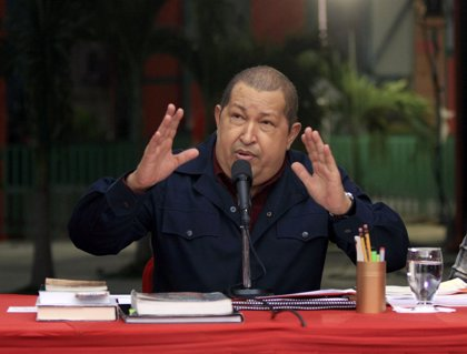 """Chávez pide a los venezolanos recordar cuando vayan a votar cómo el capitalismo """"fracasó"""" en España"""