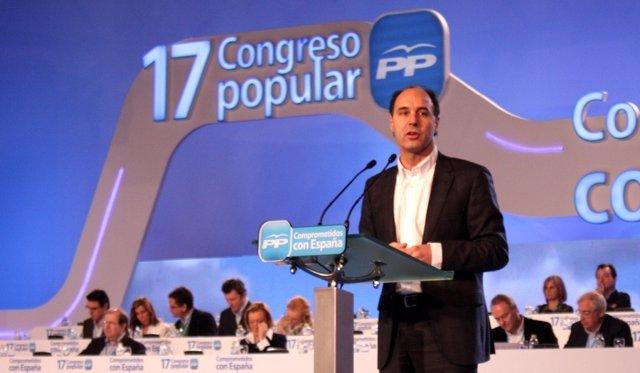 Ignacio Diego En El XVII Congreso Nacional Del PP