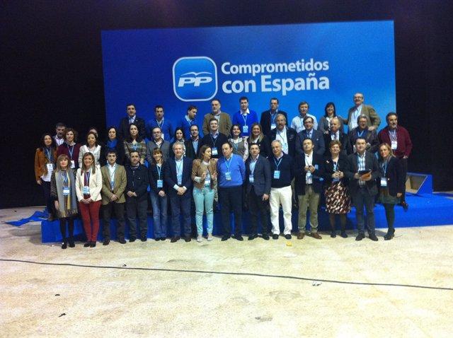 Compromisarios Del PP De La Rioja Que Participan En El Congreso Nacional Del PP