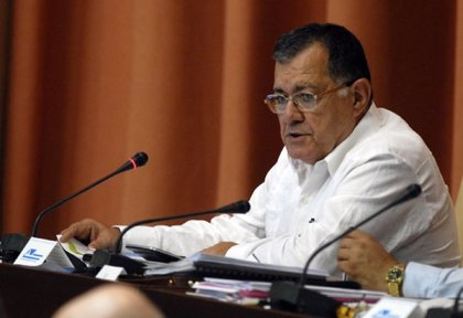El ministro de Economía de Cuba, octavo vicepresidente del país