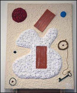 Una De Las Obras De Francisco Ortiz En La Muestra Del Ateneo