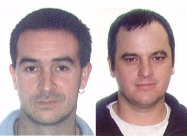 Presuntos Miembros De ETA Juan Ignacio Otaño Labaca E Iñaki Iguerategui Lizarrib