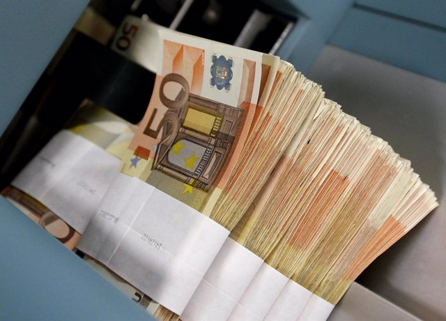 Dinero, Billetes, Euros