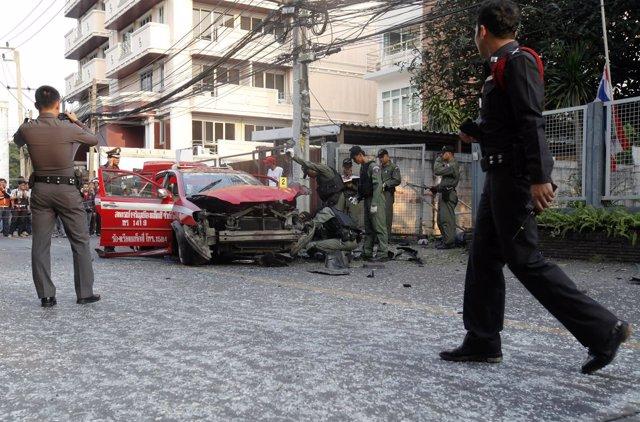 Atentado Terrorista En Bangkok, Tailandia