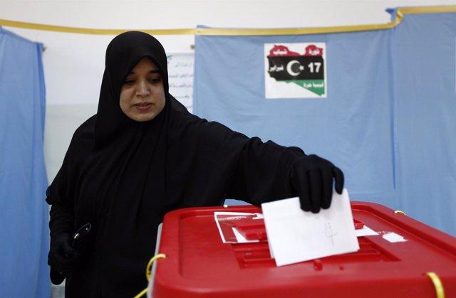 Elecciones En Misrata, En Libia