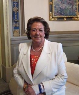Rita Barberá Durante Una Entrevista Concedida A Europa Press