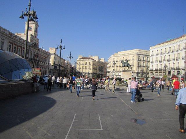 Puerta Del Sol Tras El 15-O