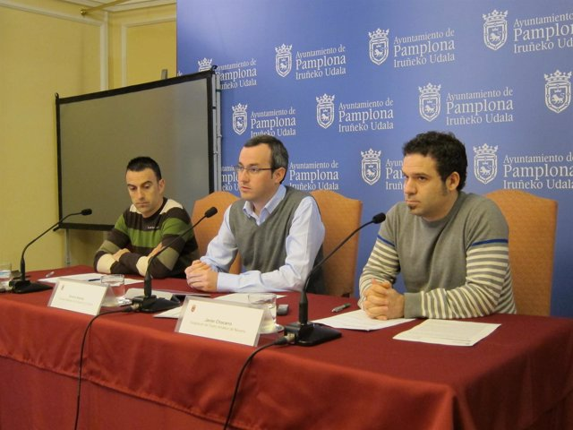 Iñaki Crespo, Fermín Alonso Y Javier Chocarro.
