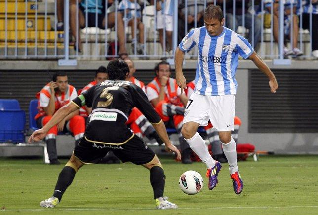 Joaquín, Málaga CF-Granada