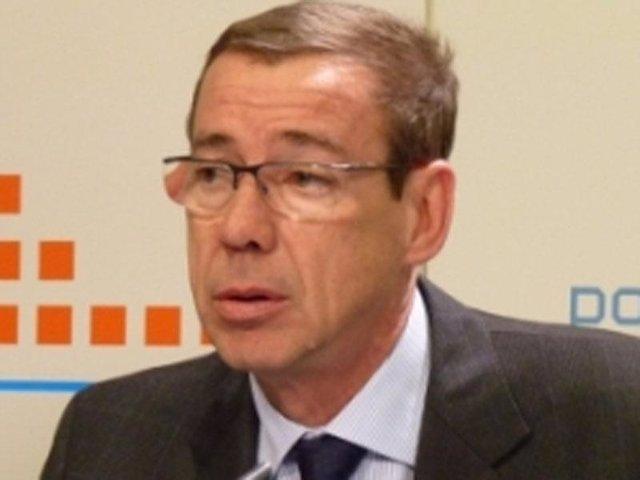 El secretario general del PPCV, Antonio Clemente, en imagen de archivo
