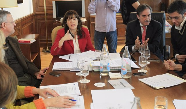 Reunián Del PSOE Con Soraya Rodríguez