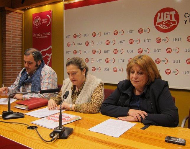 La Secretaria Regional De FSP-UGT Analiza La Reforma Laboral