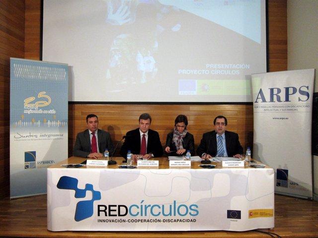 Bretón, Pardo, Rodríguez Y Cavero, En La Presentación