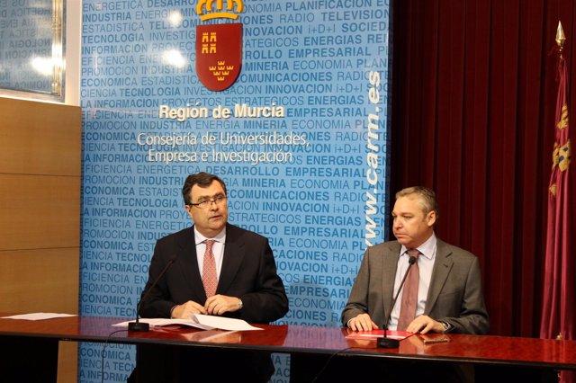 Firma Protocolo Consejería Universidades-Ayuntamiento De Mazarrón