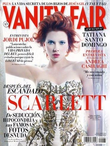Portada Vanity Fari Scarlett Johansson