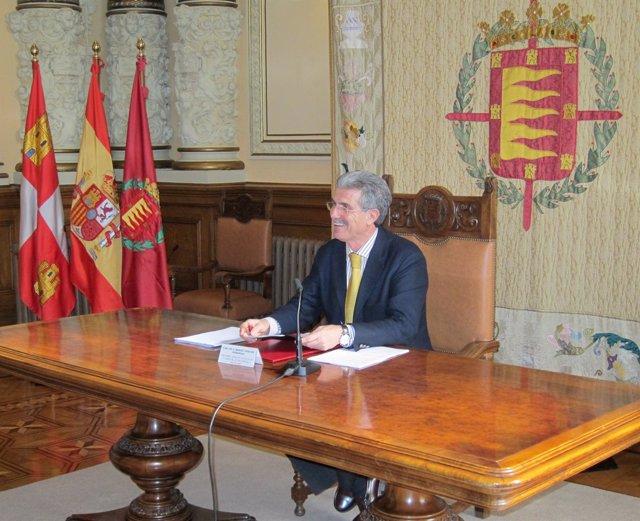 El Concejal Manuel Sánchez