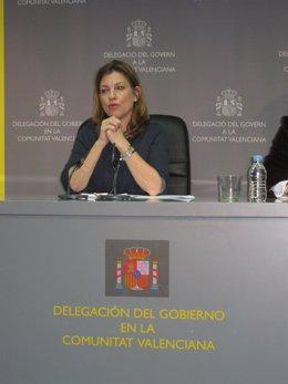 La Delegada Del Gobierno En La Comunitat, Paula Sánchez De León.