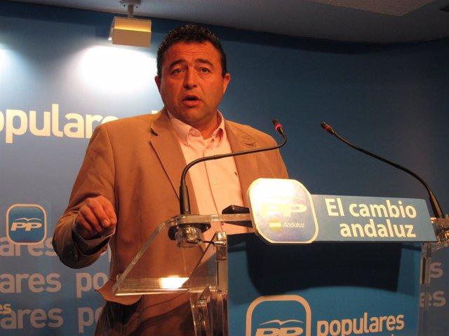El Portavoz Del Equipo De Gobierno En Almonte, José Joaquín De La Torre.