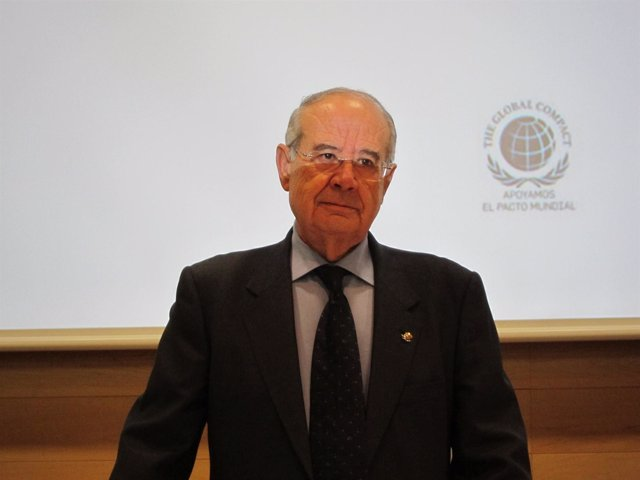 El Presidente De Cajamar, Antonio Pérez Lao