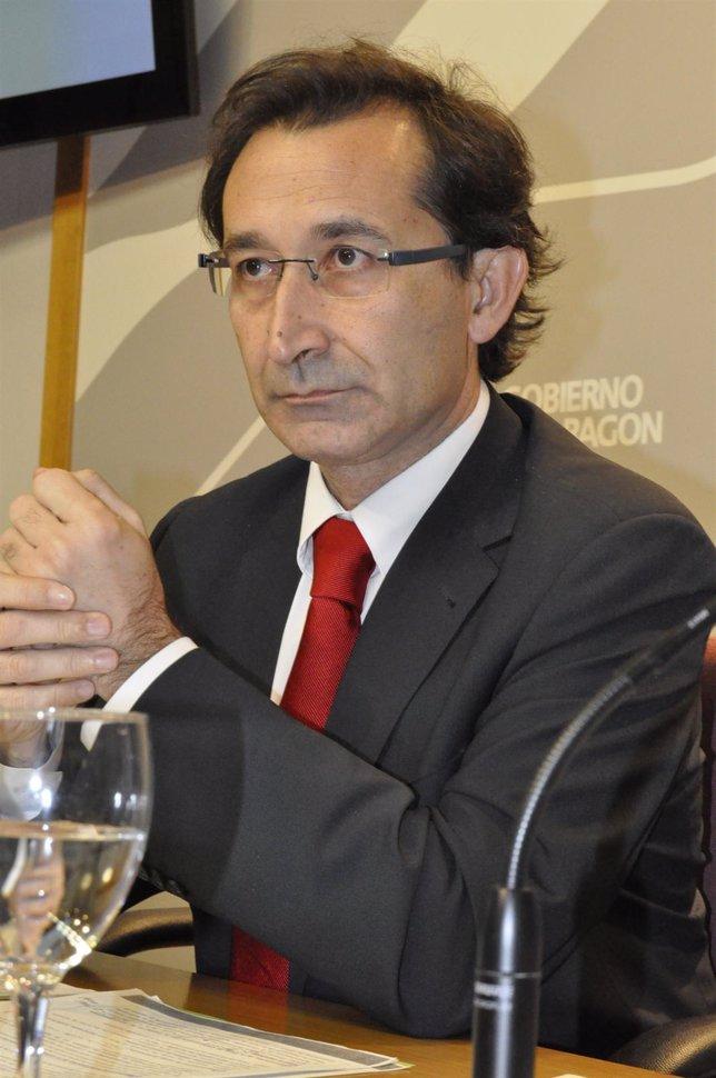 El Consejero De Hacienda, José Luis Saz