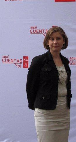La Responsable De Nuevas Tecnologías Del PSOE, Esther Clavero