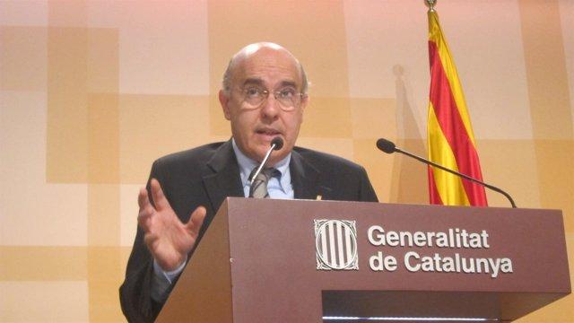 Boi Ruiz, En Rueda De Prensa Tras El Consell Executiu